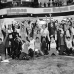 Общее фото всех участников праздника футбола в Бишкек-парке